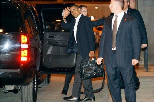 Maletín TUMI de Obama